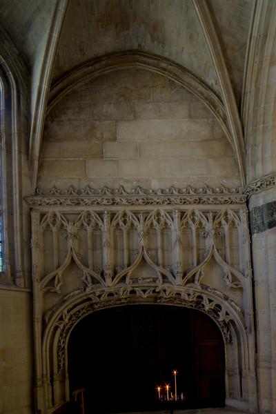 Gisors, Saint-Gervais-Saint-Protais Church Aisle Entrance