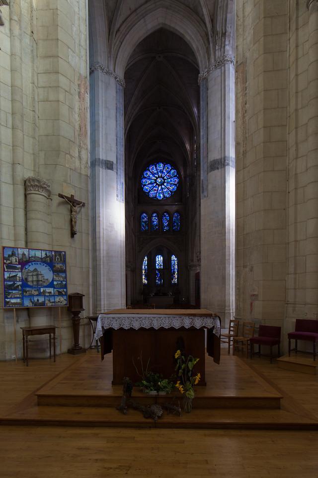 Gisors, Saint-Gervais-Saint-Protais Church Rose Window