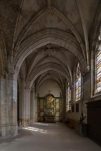 Gisors, Saint-Gervais-Saint-Protais Church Aisle