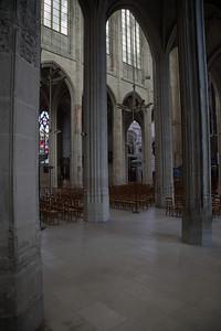 Gisors, Saint-Gervais-Saint-Protais Church Aisle Columns