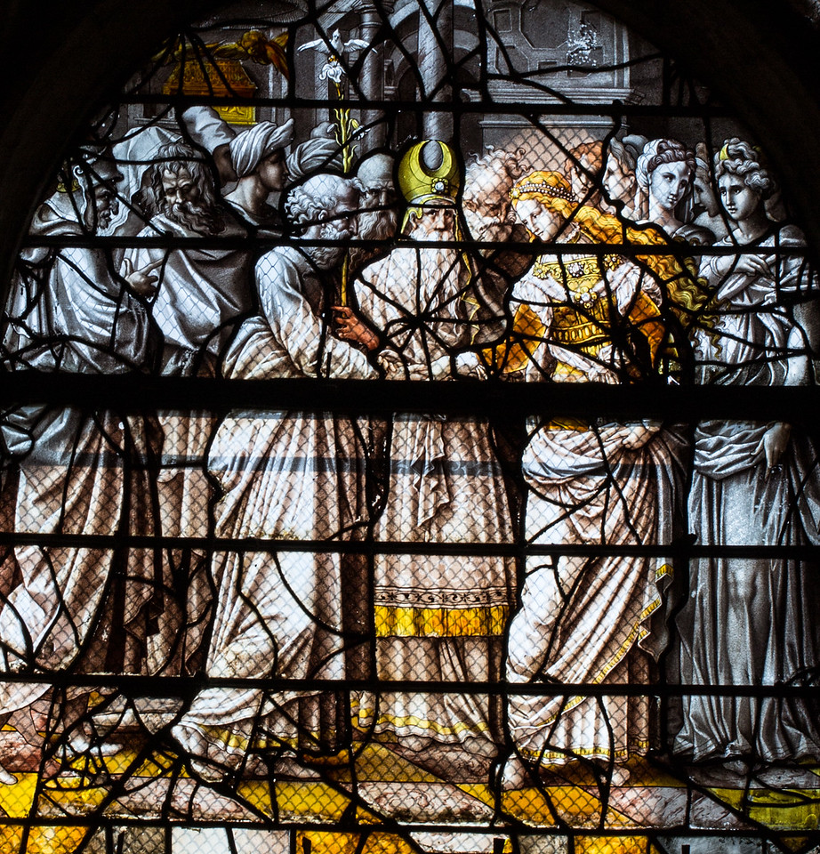 Gisors, Saint-Gervais-Saint-Protais Church, The Marriage of the Virgin