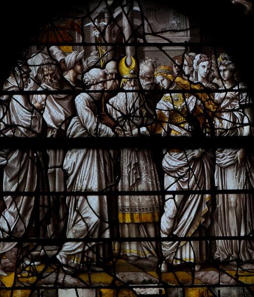 Gisors, Saint-Gervais-Saint-Protais Church, The Marriage of Joseph and Mary
