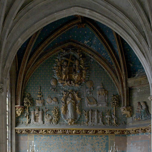 Gisors, Saint-Gervais-Saint-Protais Church Chapel Litany of The Virgin