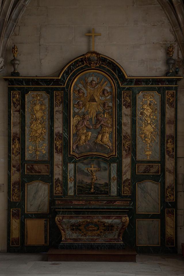 Gisors, Saint-Gervais-Saint-Protais Church Altar