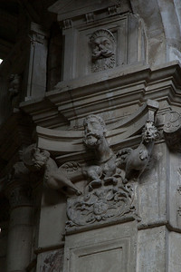 Gisors, Saint-Gervais-Saint-Protais Church Capital Relief