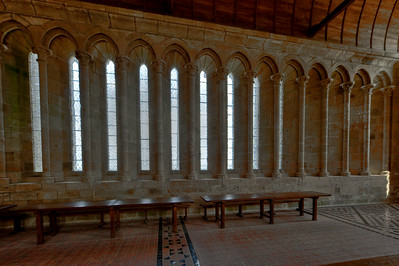 Mont Saint-Michel Lancet Windows