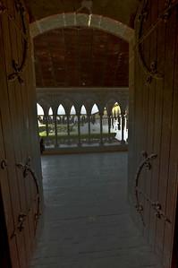 Mont Saint-Michel Cloister Entry