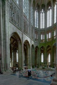 Mont Saint-Michel Choir Elevation