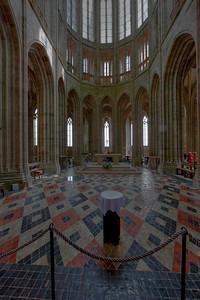 Mont Saint-Michel Choir