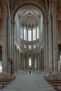 Mont Saint-Michel Nave and Choir