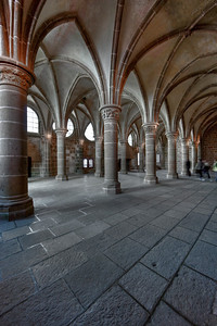 Mont Saint-Michel, The Scriptorium