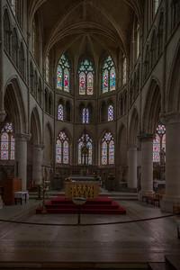 Neufchatel-en-Bray, Eglise Notre-Dame Choir