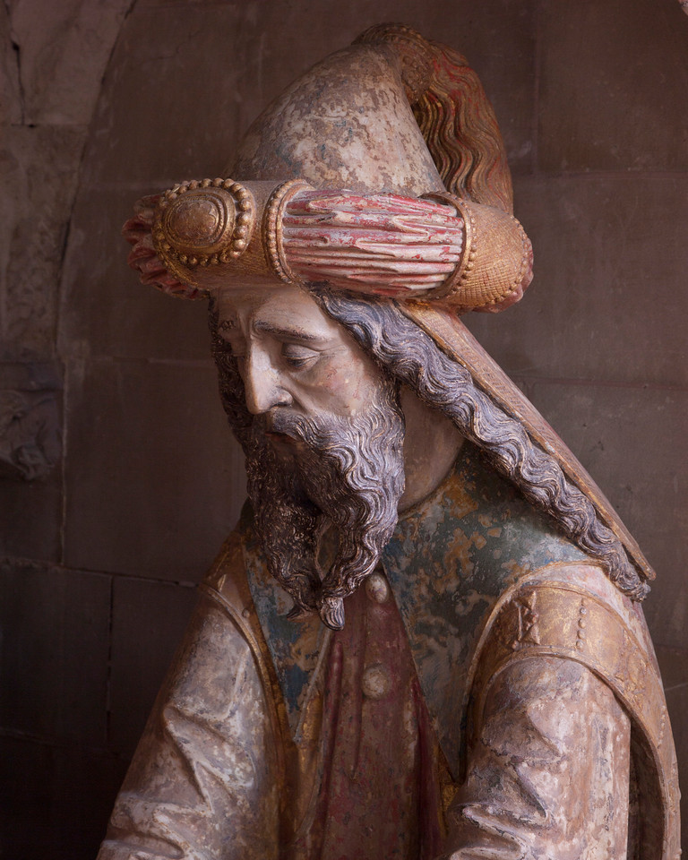 Neufchatel-en-Bray, Eglise Notre-Dame - The Entombment - Nicodemas