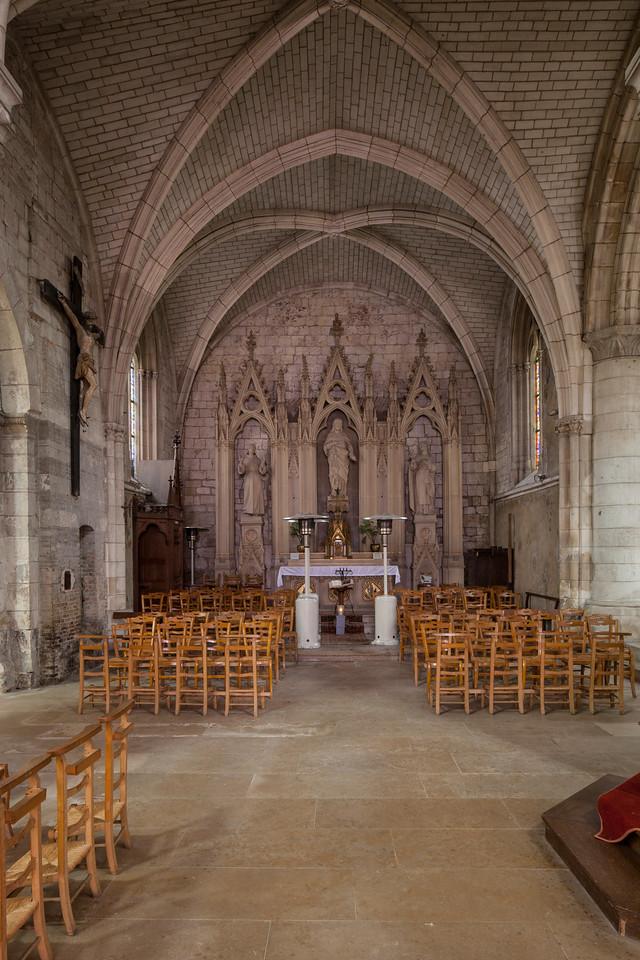 Neufchatel-en-Bray, Eglise Notre-Dame Altar