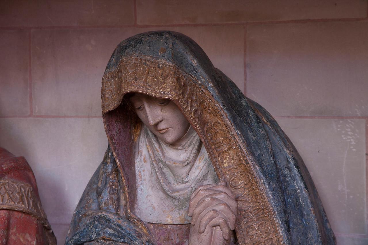 Neufchatel-en-Bray, Eglise Notre-Dame - The Entombment - The Virgin