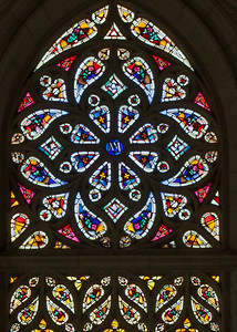 Neufchatel-en-Bray, Eglise Notre-Dame = The Rose Window