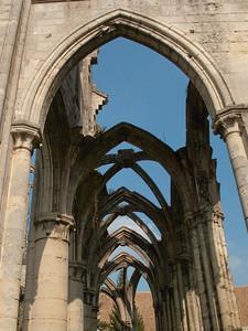 Ourscamp Abbey - Aisle Vault Ribs
