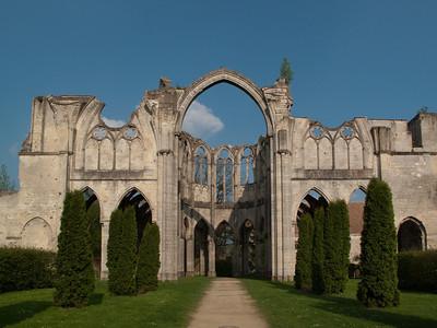 Ourscamp Abbey - Choir