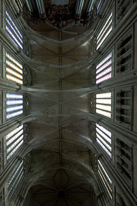Saint-Quentin Basilica Nave Vaults