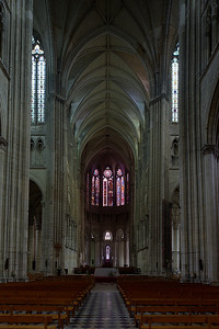 Saint-Quentin Basilica Nave and Choir