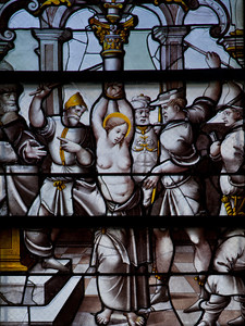 Troyes - Saint-Jean-au-Marc he - The Martyrdom of Saint-Agatha