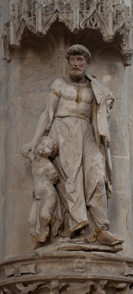 Troyes - Saint-Pantaleion - Man with Boy