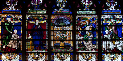 Troyes - Saint-Jean-au-Marche - The Annunciatio
