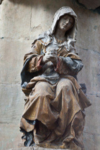 Troyes Saint-Pantaleion Church, The Virgin in Prayer