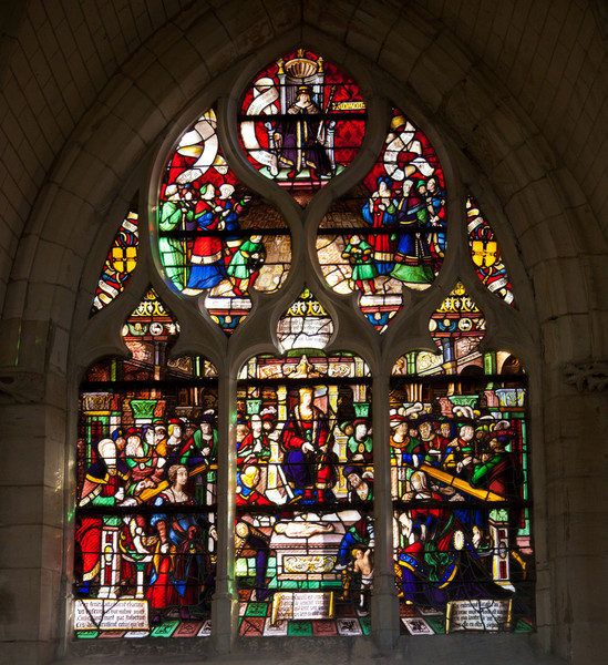 Troyes - Saint-Jean-au-Marche - The Judgment of Solomon