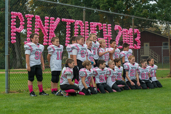 2013 Burlington Panthers - 9U White