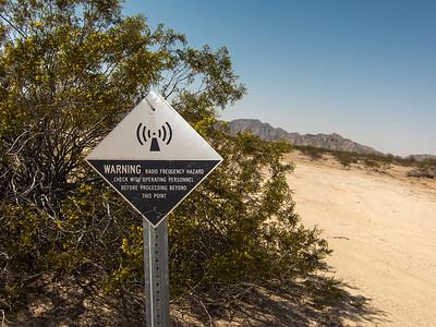 Barry M. Goldwater Air Force Range, Tinajas Altas Mountains, Yuma Co., Arizona USA.