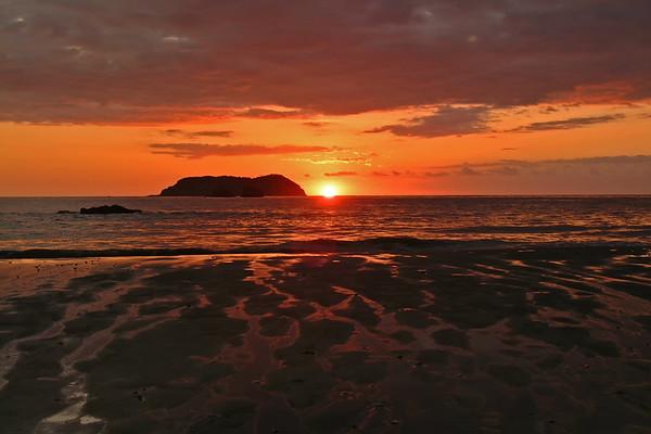 Manuel Antonio Beach Lava Sunset DSCF1934T_DFINE