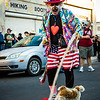 Waffles the Clown. 25th Annual All Souls Procession 2014, Tucson, Arizona USA
