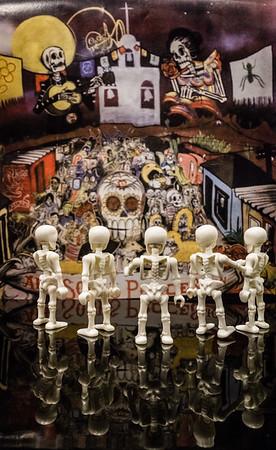 Playmobil. 25th All Souls Procession, 9Nov2014. Tucson, Arizona USA