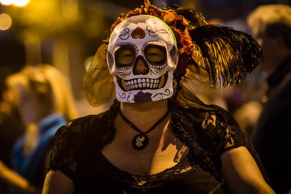 25th Annual All Souls Procession 2014, Tucson, Arizona USA