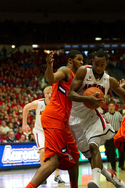 Kyle Fogg - 21. Arizona vs Clemson basketball 10Dec2011