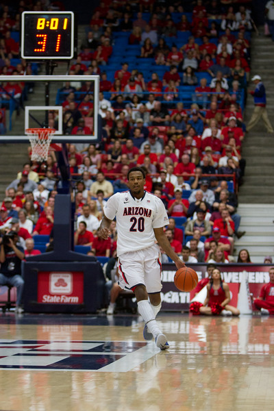 Jordin Mayes - 20. Arizona vs Clemson basketball 10Dec2011