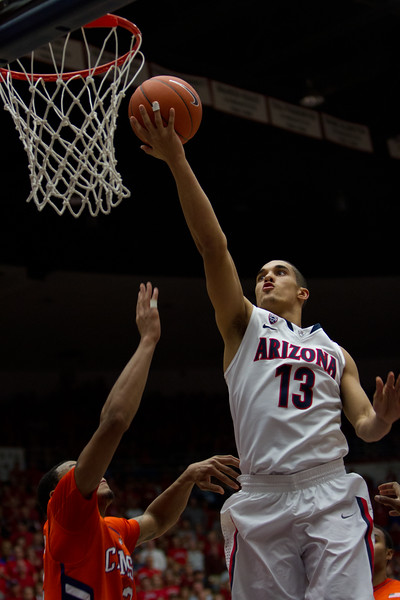 Nick Johnson - 13. Arizona vs Clemson basketball 10Dec2011