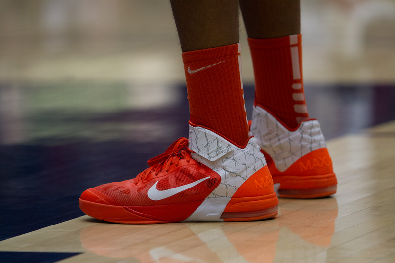 Shoes. Arizona vs Clemson basketball 10Dec2011