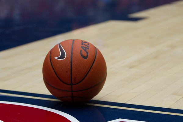 Game Ball. Arizona vs Clemson basketball 10Dec2011