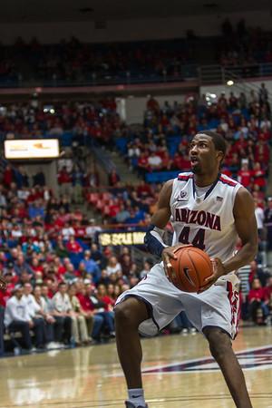 Salomon Hill (44). Arizona vs Washington basketball 20Feb2013