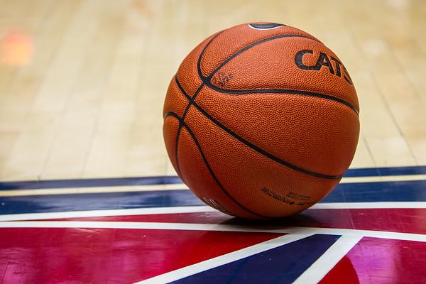 Game Ball. Arizona vs Washington basketball 20Feb2013