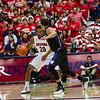 Jordon Mayes (20). Arizona vs Washington basketball 20Feb2013
