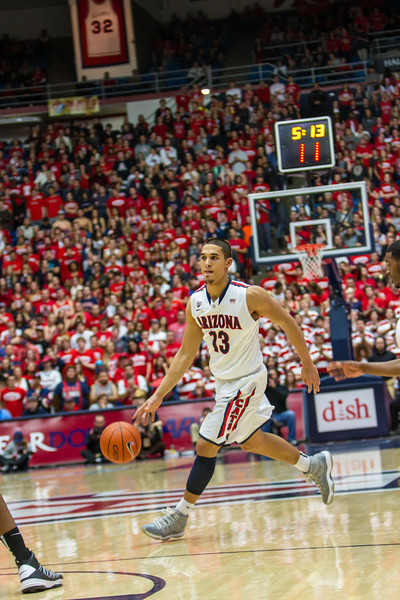 Arizona vs Washington basketball 20Feb2013