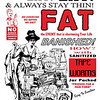 Tapeworm Weight Loss: Eat Eat Eat and Always Stay Thin [Illustrator Recreation]. Original product date unknown.