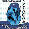 Beware Spinone GRRRRRRRR! A play on a Roy Lichtenstein poster.