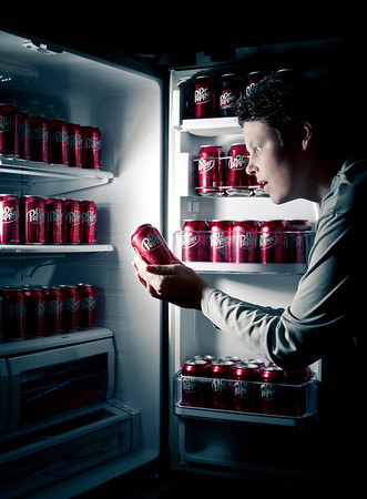 Dr. Pepper Addiction - Self-portrait