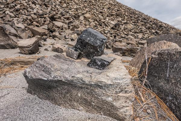 Obsidian, Mono Craters, Mono Co., California CA United States