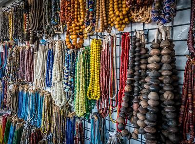 beads. Tucson Gem & Mineral Show 2017