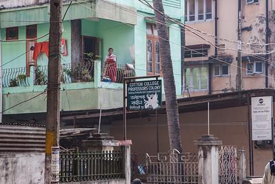 Cotton College Professor's Colony. Guwahati, Assam India